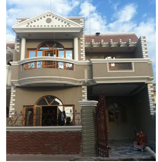 Duplex house for sale subhash colony bhopal lacs for Cost of building a duplex house